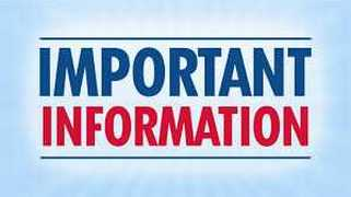 Must Attend Meetings Information for 1st Communion & Confirmation