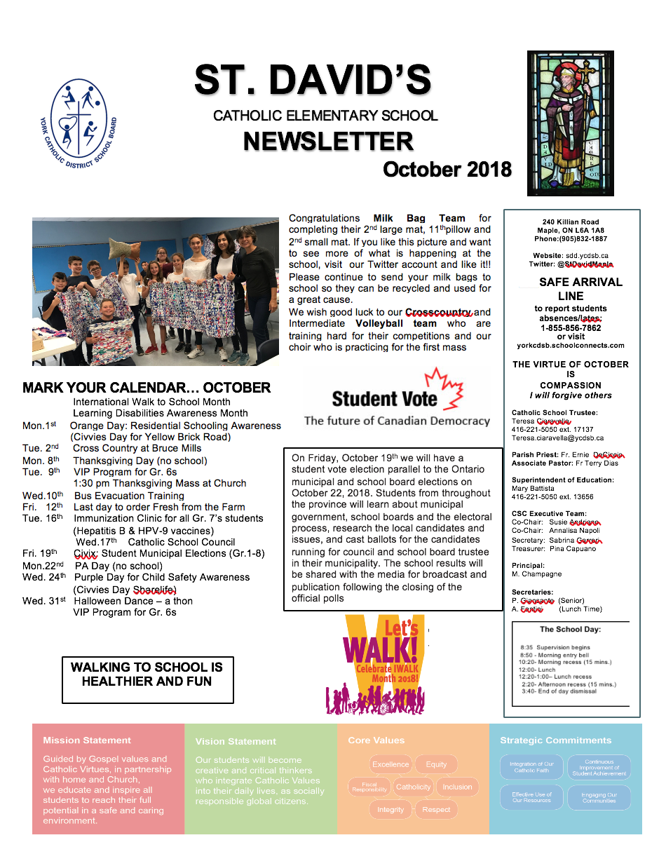 October Newsletter is Ready