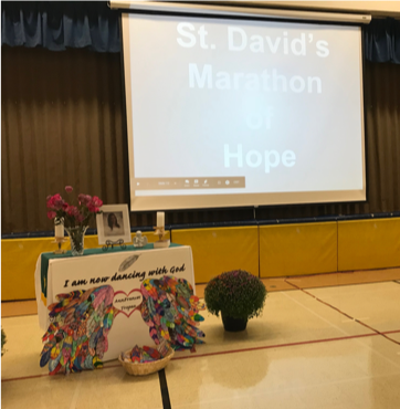 MARATHON OF HOPE AT ST. DAVID