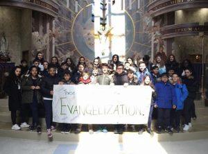 Confirmation Retreat at St. David Church