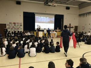 REMEMBRANCE DAY AT ST. DAVID