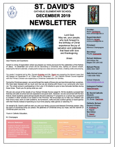 Our December Newsletter